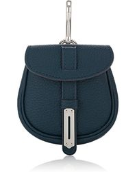 Fontana Milano 1915 - Mimosa Mini Leather Pouch Bag Charm - Lyst