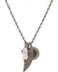 Feathered Soul - Charm Necklace - Lyst