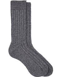Barneys New York | Ribbed Cashmere Socks | Lyst