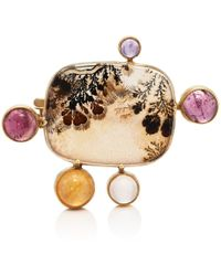 Judy Geib - Mixed-gemstone Pin - Lyst
