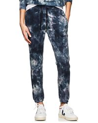NSF - Sayde Tie-dyed Cotton Sweatpants - Lyst
