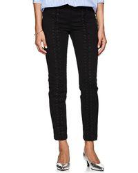 A.L.C. - Kerrigan Cotton Lace-up Trousers - Lyst