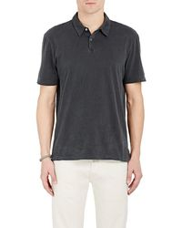 James Perse - Jersey Polo Shirt - Lyst