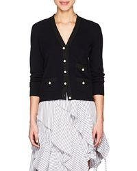 Barneys New York - Embellished Knit Cashmere Cardigan - Lyst