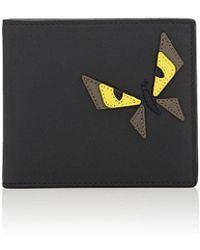 Fendi - Bag Bugs Leather Billfold - Lyst