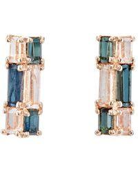 Nak Armstrong - Mosaic Bar Stud Earrings - Lyst