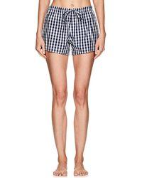 Sleepy Jones - Marina Gingham Cotton Pajama Shorts - Lyst