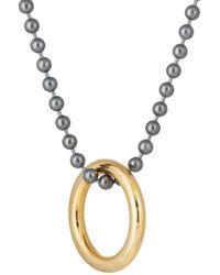 Loren Stewart - Ball & Chain Necklace - Lyst