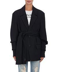 Ambush - Wool Oversized Belted Blazer - Lyst