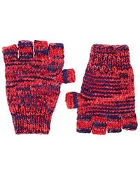 The Elder Statesman - Mélange Cashmere Fingerless Gloves - Lyst