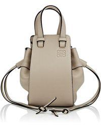 Loewe - Hammock Mini Leather Bag - Lyst