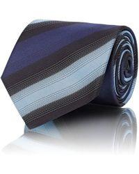 Mens Striped Silk Necktie Prada k6oKHPEW