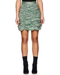 Jourden - Ruched Miniskirt - Lyst