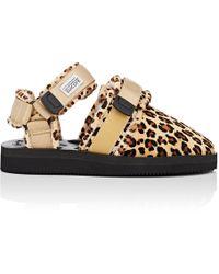 Suicoke - Shearling-lined Fur Sandals - Lyst
