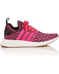 Lyst adidas nmd r2 primeknit scarpe rosa per gli uomini.
