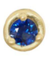 Tate - Blue Sapphire Stud Earring - Lyst