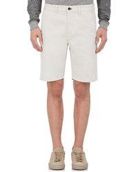 Rag & Bone - Standard Issue Cotton Twill Shorts - Lyst