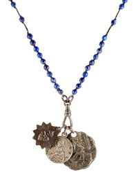 Miracle Icons - Beaded Pendant Necklace - Lyst