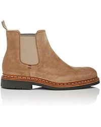 Heschung - Tremble Suede Chelsea Boots - Lyst