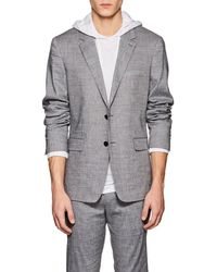 Theory - Gansevoort Linen-blend Two - Lyst