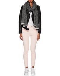 Barneys New York - Cashmere-silk Bouclé Scarf - Lyst