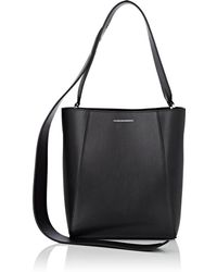 CALVIN KLEIN 205W39NYC - Small Leather Bucket Bag - Lyst