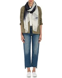Denis Colomb - Mustang Peacock Ombré Cashmere Gauze Scarf - Lyst