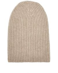 Barneys New York - English Rib-knit Beanie - Lyst