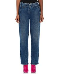 MM6 by Maison Martin Margiela - Straight Jeans - Lyst