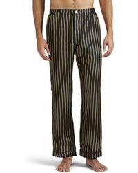 Sleepy Jones - Henry Striped Silk Pajama Pants - Lyst