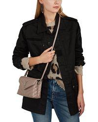 Saint Laurent - Logo-patch Cotton-blend Field Jacket - Lyst