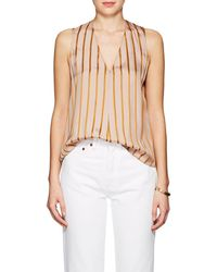 Giada Forte - Striped Twill Top - Lyst