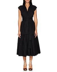 Proenza Schouler - Cotton Poplin Peasant Dress - Lyst