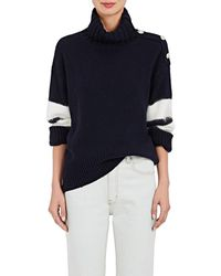 Tomorrowland - Stripe-sleeve Wool - Lyst