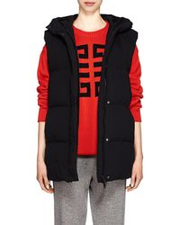 Givenchy - Logo-detailed Hooded Puffer Vest - Lyst