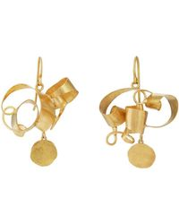 Judy Geib Wild Tangled Drop Earrings
