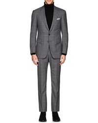Cifonelli - Montecarlo Plaid Wool Two - Lyst