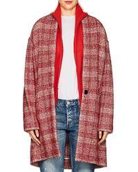 Étoile Isabel Marant - Tweed Cocoon Coat - Lyst
