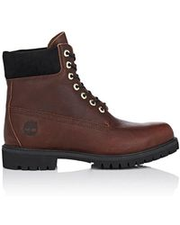 Timberland - Bny Sole Series: 6-inch Grained Leather Boots - Lyst