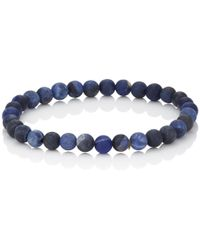 Barneys New York - Sodalite Beaded Bracelet - Lyst