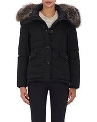 Moncler - Malus Fur-trimmed Down Jacket - Lyst