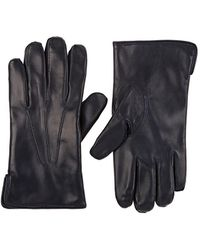 Barneys New York - Cashmere-lined Leather Gloves - Lyst