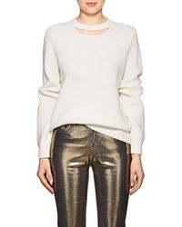 Rag & Bone - Tori Cutout Wool Jumper - Lyst