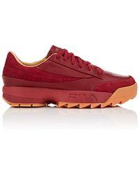 Fila - Original Tennis Leather Sneakers - Lyst