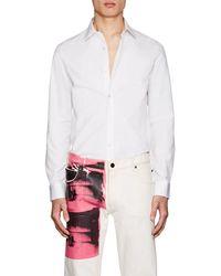 CALVIN KLEIN 205W39NYC - Cotton Poplin Shirt - Lyst