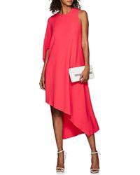 a85e339adf8 Narciso Rodriguez - Draped Cady Asymmetric Dress - Lyst