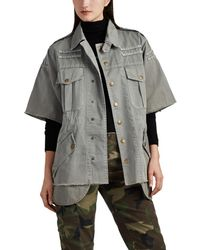 NSF - Verena Washed Cotton Military Jacket - Lyst