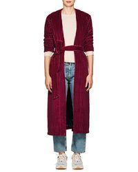 Mira Mikati - late Cotton Velvet Robe Jacket - Lyst