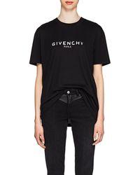 Givenchy - Oversized Logo Print T-shirt - Lyst