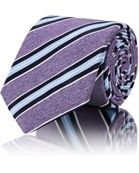 Barneys New York | Striped Silk Necktie | Lyst